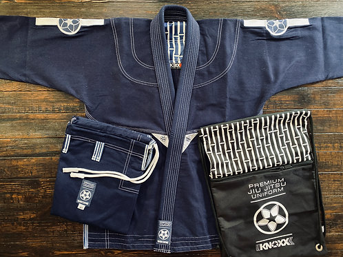 "KNOXX Jiu Jitsu ""Bamboo"" Navy Gi - Ultra Lightweight"