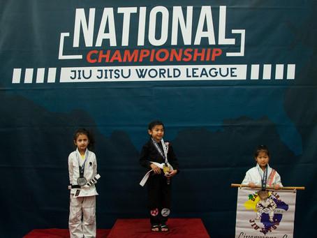 Great Job everyoneat Jiu Jitsu World League - National Championship