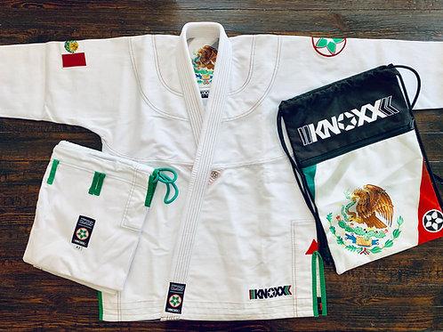 "KNOXX Youth Jiu Jitsu ""Heritage Series - Mexico"" White Gi"