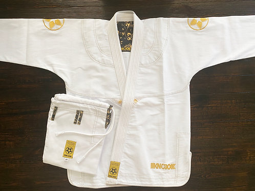 "KNOXX Jiu Jitsu ""Quest For Gold-V2"" White Gi"