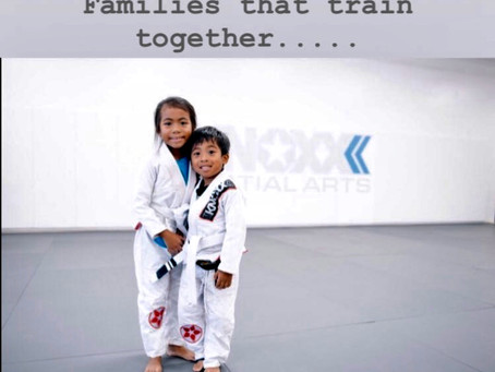 Families That Train Together, Help Protect Each Other