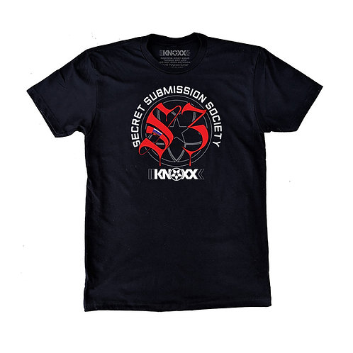 "KNOXX Youth Shirt ""Secret Submission Society"" -Black"