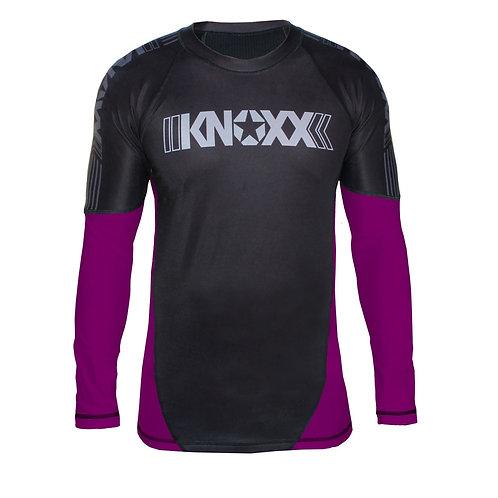 KNOXX Rank Rashguard - Purple