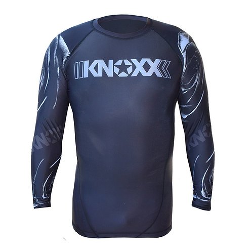 "KNOXX ""Black Thorn"" Rashguard -Black"