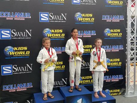 5 Times Kids World Champion