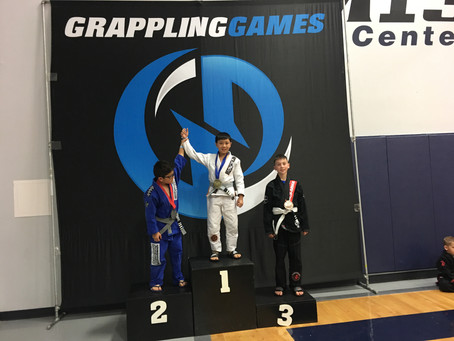 Double Gold for Eli Pascual at Houston Winter Grappling Games!