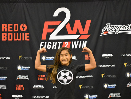 Great job to all the competitors for Fight 2 Win in Santa Clara, Ca