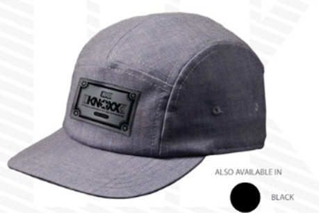 KNOXX 5 Panel Cap -Gray