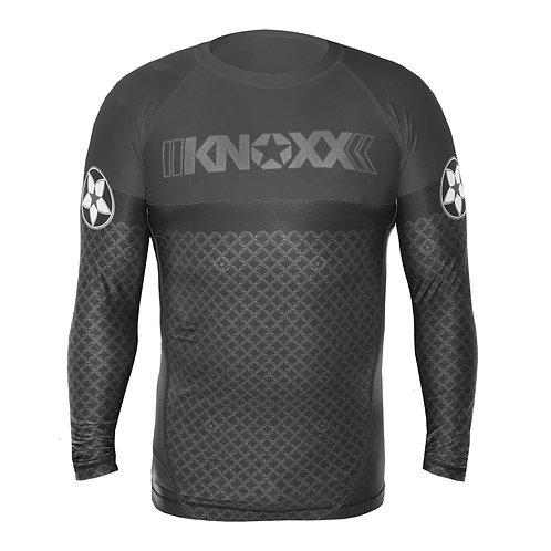 "KNOXX Rank ""Links"" Rashguard -Black"