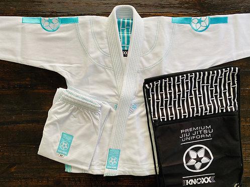 "KNOXX Youth Jiu Jitsu ""Bamboo"" White Gi"