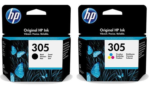 HP 305 Black & Colour