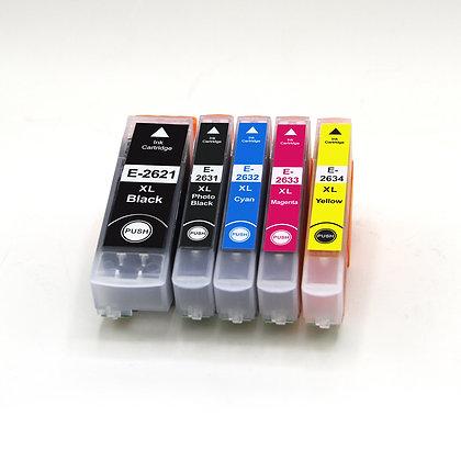 Epson Compatible T2621-T2634