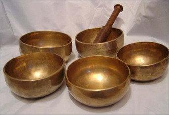 5'' Tibetan Metal Bowl
