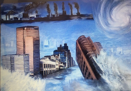 Hurricanes Climate Change by Terry Pellmar