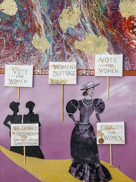 The Voice of Suffrage by Sage Washington