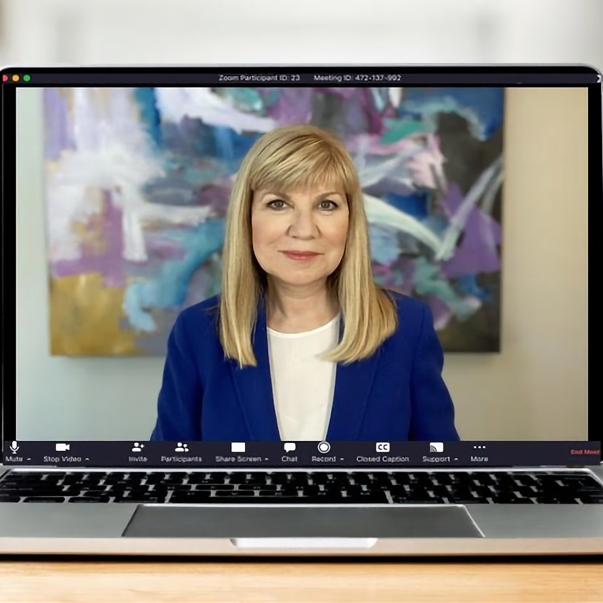 How to Look and Sound Great in Online Meetings-Free workshop