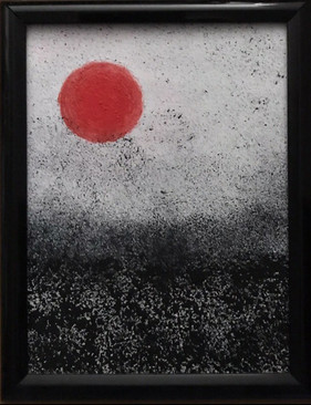 Red Sun and Acid Rain by Astrid Adler