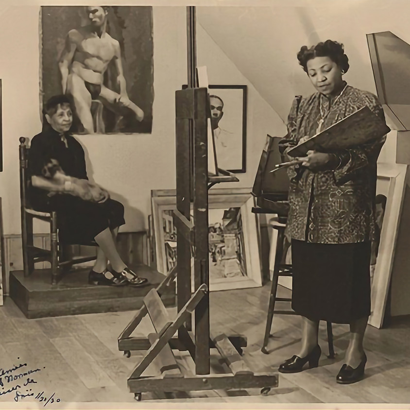 Marking the Middle: Loïs Mailou Jones's Mid-Century Portrait Practice - After Talk with Barbara Wolanin