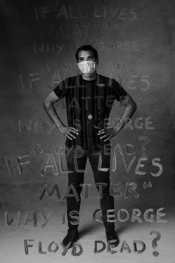 Protest Portraits: Trysten #1 by Maundy Mitchell