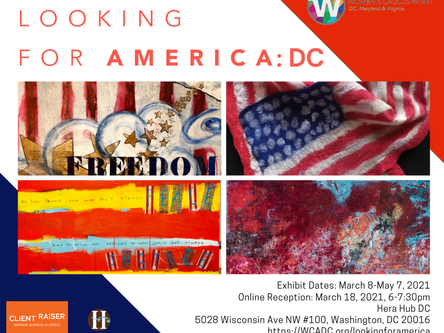 Looking for America: DC a Letter from Holly Stone, President