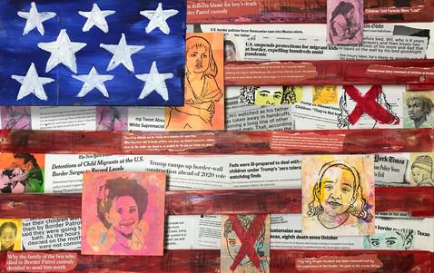 US Border Tragedy By Linda Slattery Sherman