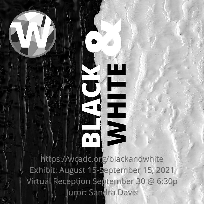 Black & White Virtual  Exhibit Reception