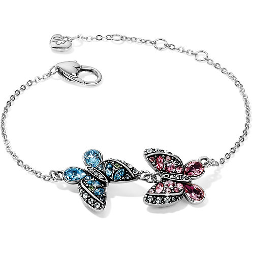 Brighton - Trust Your Journey Love Butterflies Reversible Bracelet
