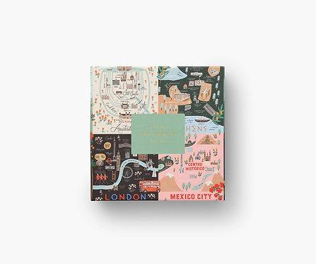 Rifle Paper - Maps 500 Piece Puzzle