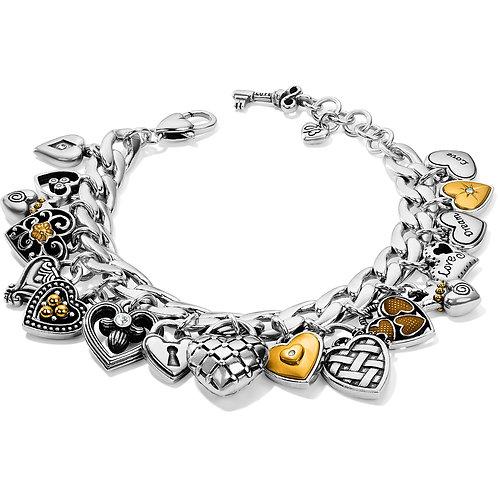 Brighton - One Heart Charm Bracelet