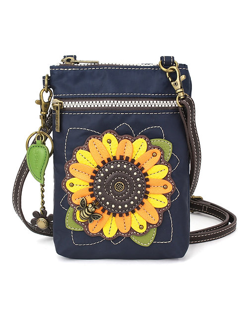 Sunflower - Venture Cell Phone Crossbody - Navy