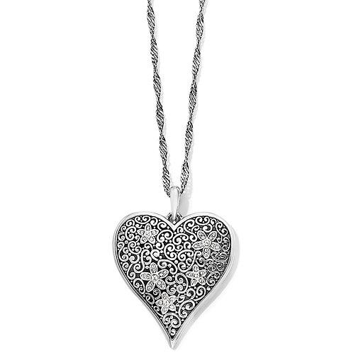 Brighton - Baroness Fiori Heart Convertible Necklace