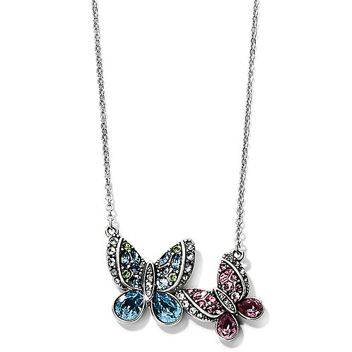 Brighton - Trust Your Journey Love Butterflies Reversible Necklace