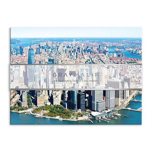 Gray Malin New York City Double-Sided 500 Piece Jigsaw Puzzle