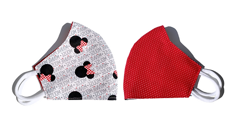 Minnie Mouse - Face Mask (Adult)