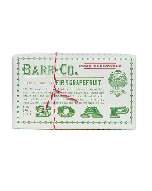 Fir & Grapefruit Triple Milled Bar Soap