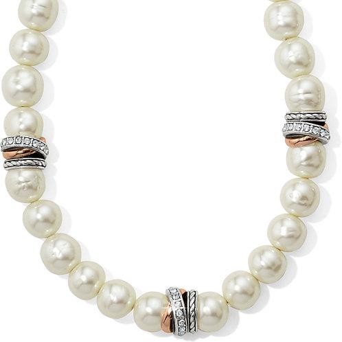Brighton - Neptune's Rings Pearl Short Necklace