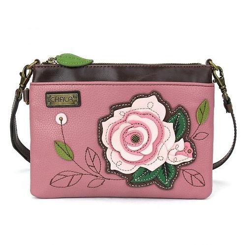 Pink Rose- Mini Crossbody
