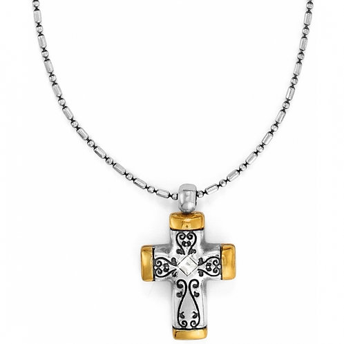 Brighton - Venezia Petite Cross Necklace