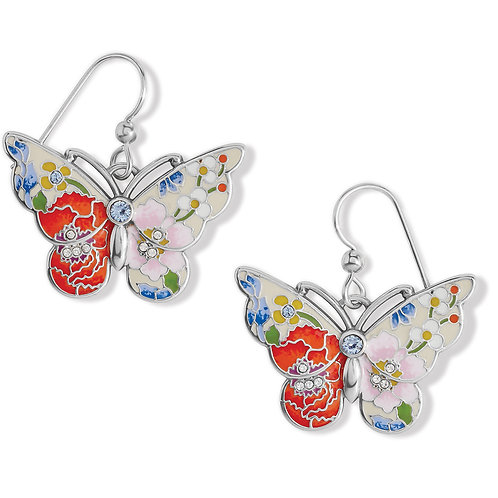 Brighton - Blossom Hill Butterfly French Wire Earrings