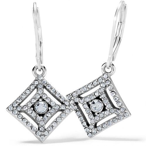 Brighton - Illumina Diamond Leverback Earrings