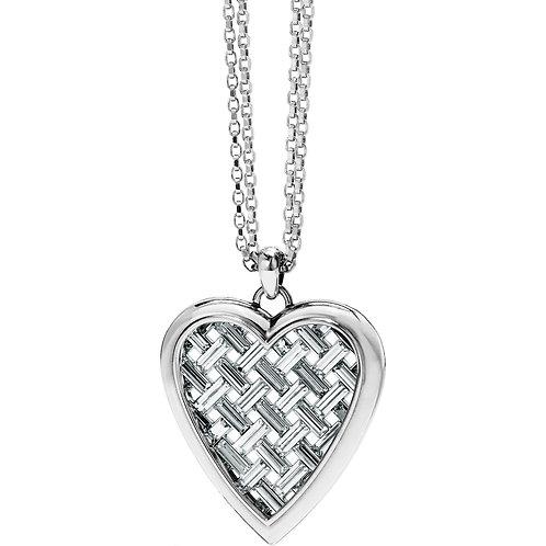 Brighton - Love Cage Heart Convertible Necklace