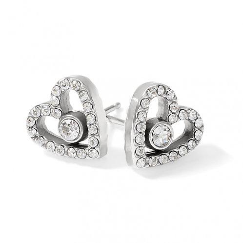 Brighton - Illumina Love Post Earrings