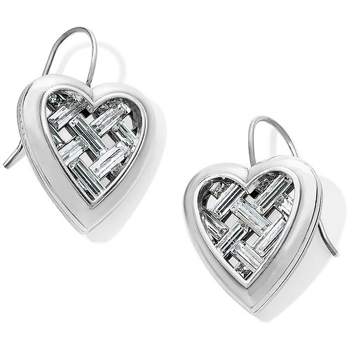 Brighton - Love Cage Heart French Wire Earrings
