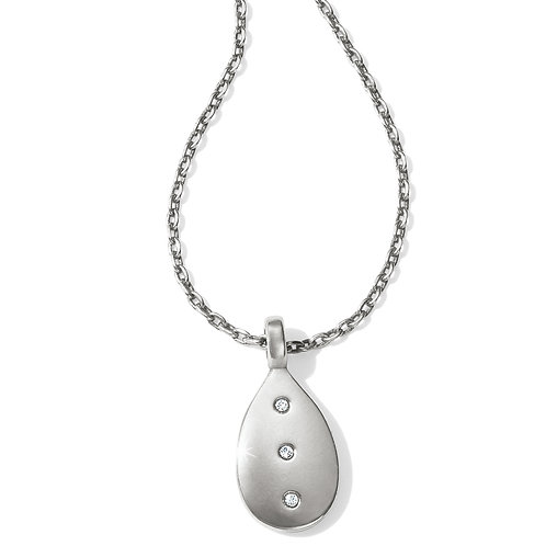 Brighton - Contempo Ice Reversible Petite Teardrop Necklace
