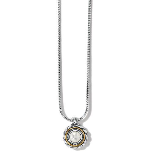 Brighton - Meridian Golden Pearl Short Necklace