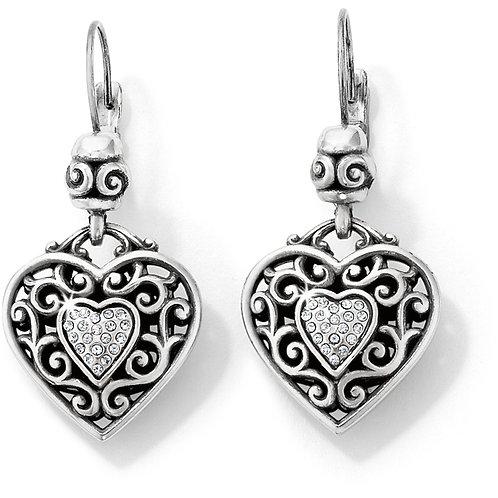 Brighton - Reno Heart Earrings