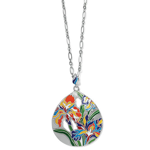 Brighton - Iris Bloom Convertible Necklace