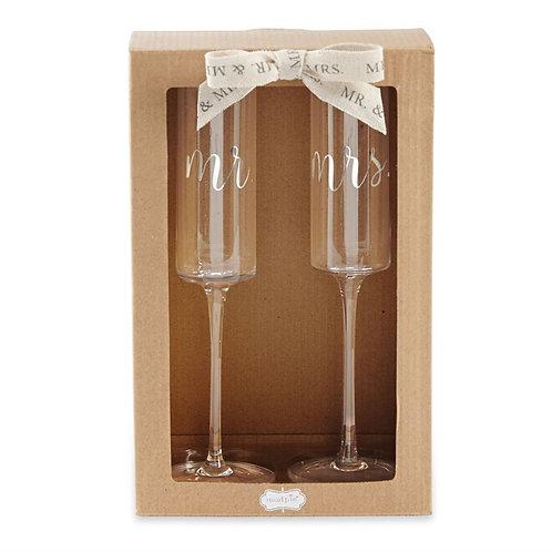Mud Pie - Wedding Champagne Set