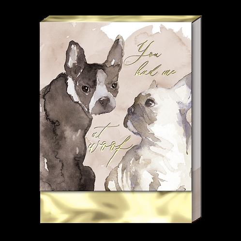 Dog Duo Pocket Note Pad