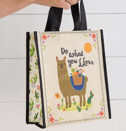 Llama Do What You Llove Bag - Medium